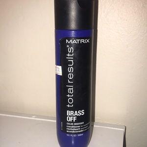 matrix total results brass off conditioner